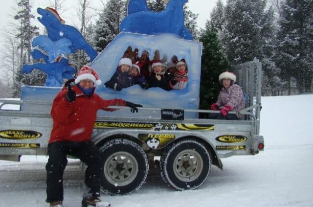 Parade de Noël – Char allégorique du service de garde